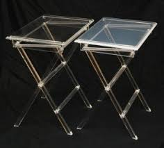 Contemporary tv trays