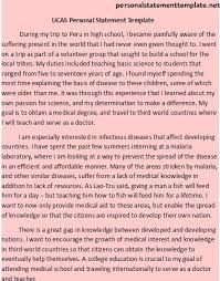 Personal Statement Template Ucas Pin By Personalstatementtemplate Net On Ucas Personal Statement