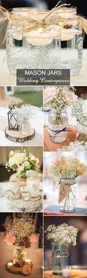 Decorated Jars For Weddings Mason Jar Wedding Decorations Wedding Ideas 60