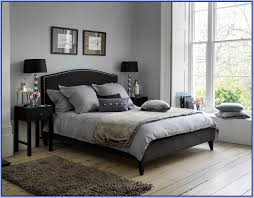 Gray Bedroom Black Furniture Photo   2