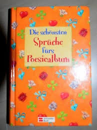 Buch Poesiealbum Die Schönsten Verse Und Sprüche Eur 100