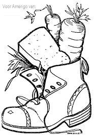 Schoen Zetten Kleurplaat