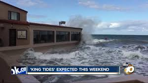King Tides Expected To Roll Up To San Diego This Weekend