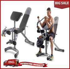 Details About Home Gyms Exercise Equipment Machine Leg Curl Extension Bench For Arm Bicep New