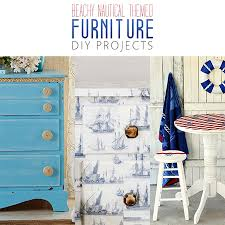 beachy furniture. interesting furniture beachy nautical themed furniture diy projects on a