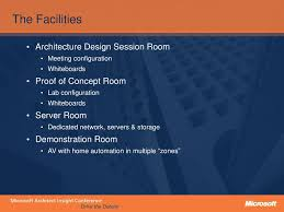 Microsoft Architecture Design Session Ppt The Microsoft Technology Centre Process Accelerating
