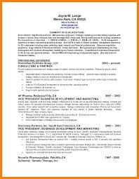 13 Summary Of Qualification Resume Chemist Sample Resumes