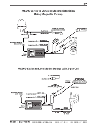 msd ignition wiring diagrams msd 6 series to ford duraspark using white trigger wire