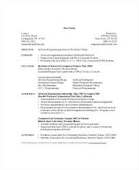 40computer Science Undergraduate Resume Statement Letter Magnificent Computer Science Student Resume