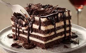 chocolate brownie lasagna