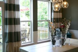 Streaky Dining Room Curtains For Tile Window Closed Simple Dining - Dining room curtain designs