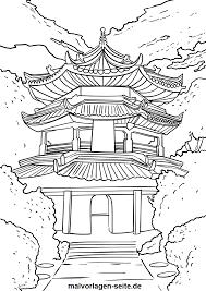 Malvorlage China Malvorlagencr