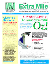 newsletters delaware oh foot doctor 2016