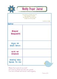 Weekly Prayer Request Chart Google Search Prayers