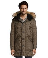 burberry burberry brit olive green diamond quilted richfield down parka 2018 new arrivals men s coats outerwear olive green d6047431