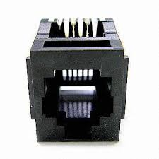10p10c modular connector rj45 rj48 pcb plug jack male to 10p10c modular connector rj45 rj48 pcb plug jack male to female for extension wiring cable on global sources
