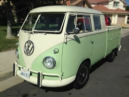 1960 VW Double Cab Truck For Sale @ Oldbug.com