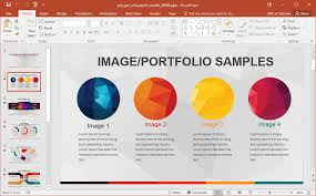 Infographic For Powerpoint Animated Polygon Infographic Powerpoint Template
