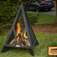 pyramid fireplace