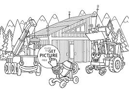 Small Picture in construction coloring pages for kids printable free Bob the