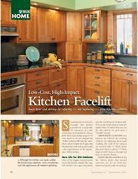 kitchen facelift woodsmith