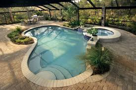 Swimming Pool:Simple Waterfall For Swimming Pool Designs Idea With Natural  Rock Decor Unique Shape
