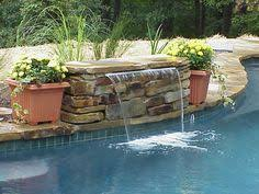 inground pool waterfalls. Leading The Way With Baltimore Inground Pools, Hot Tubs And Service Repair. Pool Waterfalls L