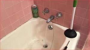 unclog bathtub drain fresh snaking a clogged shower drain plumbing of bathtub drain clogged with hair