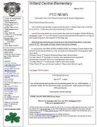 Pto Newsletter Examples