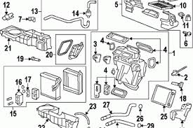 gmc acadia denali 2011 hvac blend door actuator connections 2008 gmc acadia air conditioner parts diagram