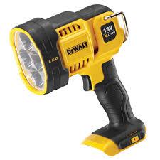 dewalt flashlight 18v. dewalt dcl043 18v xr led spotlight flashlight 18v 8