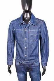 Details About Levis Mens Jean Jacket Blue Jeans Vintage Size S