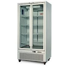 williams hq28gdcb quartz double glass door upright 670 litre display fridge