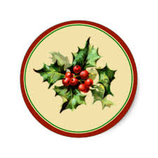 Christmas Envelope Stickers | Zazzle.com.au