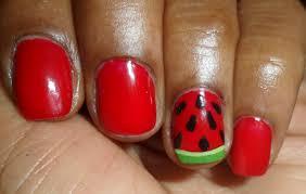 Red Nail Art Designs – Acrylic Nail Designs