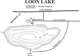Loon Lake Depth Chart Alaska Department Of Fish And Game