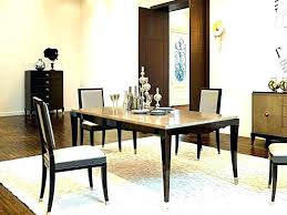 rug on carpet dining room appealing what size rug under dining table dining table carpet large rug on