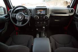 jeep wrangler 4 door interior. jeep interior by 2015 wrangler unlimited review digital trends 4 door