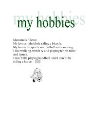 essay my hobby english essays pot com
