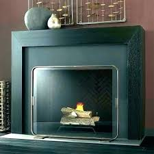 fireplace screens modern glass s contemporary screen fire all stained f