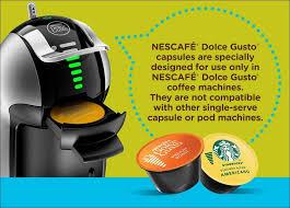 Shop all the brands you love. Amazon Com Nescafe Dolce Gusto Coffee Machine Genio 2 Espresso Cappuccino And Latte Pod Machine Kitchen Dining