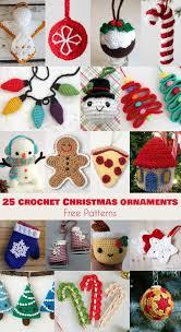 Free Crochet Christmas Ornament Patterns Classy 48 Crochet Christmas Ornaments Free Patterns Your Crochet