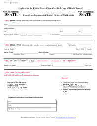Requesting A Death Certificate Request Death Certificate Magdalene Project Org