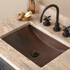 undermount bathroom sink. Avila Copper Bathroom Sink Native Trails For Undermount Sinks How To Attach