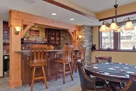 rustic basement bar ideas. Basement Bar And Gaming Table Rustic Ideas
