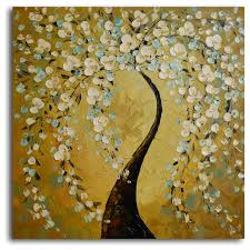 shimmering bow hand painted oil painting modern artwork