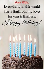 Happy Birthday Love Quotes Inspiration Happy Birthday Wishes Quotes Messages For Wife Happy Birthday