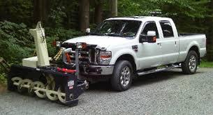 SnowVac Truck Mounted Snowblowers