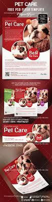 Pet Information Template Free Pet Care Flyer Template