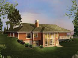 house plans and more. Ranch House Plan Color Image Of - 007D-0206 | Plans And More S